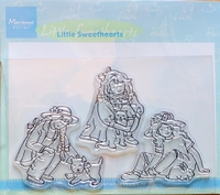 TC0816 Clearstamp Marianne Design Little Sweethearts