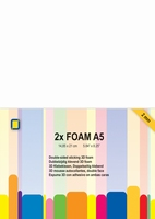 F2.0mm 3.3242 Foam A5 2 mm 2 sheets