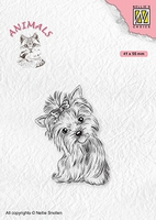 ANI020 Clear Stamps Animals yorkshire terrier