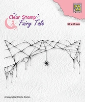 FTCS024 Fairy Clear Stamps Tale Spider and web