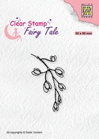 FTCS025 Fairy Clear Stamps Tale Blooming branch