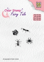 FTCS026 Fairy Clear Stamps Tale Insects