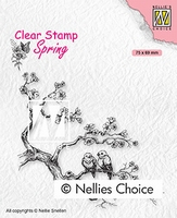 SPCS017 Clear Stamps Spring Spring lovers