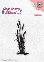 SIL077 Clear stamps Silhouettes Bulrushes-2