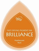 BD-000-061 Brilliance Dew Drops inkpads Pearlescent Rust
