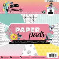 Create Happiness Paper Pad - 15 x 15cm Nr.111