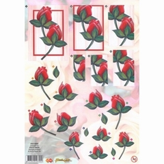 POC10005 Carddeco Push Out Tulp