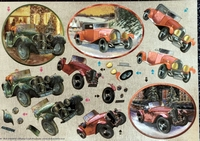 248563 Dufex Freestyle Decoupage Oldtimers