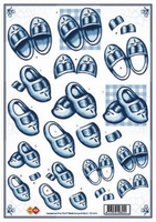 CD10076 Wooden shoes