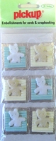 PU2105 Embellishments for Cards and Scrapbooking