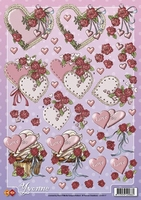 CD10117 3D Carddeco  Yvonne Love