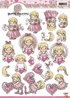 CD10189 3D Carddeco Yvonne Love