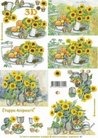 4169502 LeSuh Sunflowers
