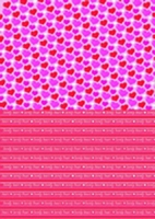 Background sheet Hearts
