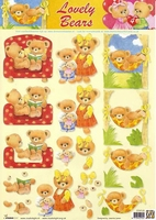 STAPLB04 Lovely Bears Studio Light