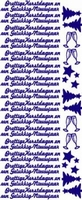 ST526WM Sticker Prettige Kerstdagen/G.N. Wit-Multi